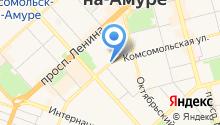 Вивея на карте