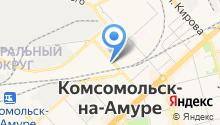 Военная прокуратура Комсомольского-на-Амуре гарнизона на карте