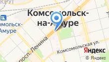 Банк Уссури на карте