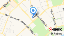 Grunge cafe на карте
