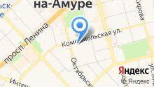 Амурский гуманитарно-педагогический государственный университет на карте