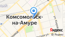 Город одежды на карте
