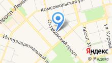 Весь Комсомольск на карте