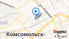 Бюро медико-социальной экспертизы по Хабаровскому краю на карте