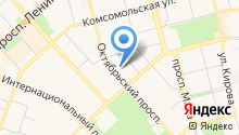 BeMotion на карте