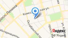 Батон на карте