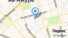 8 отряд ФПС по Хабаровскому краю на карте