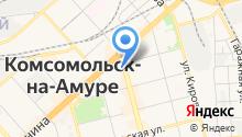 Антилопа плюс на карте