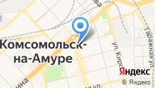 YETI на карте