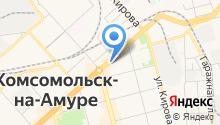 Дорога ДВ на карте