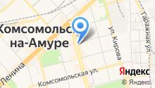Афанасьев на карте