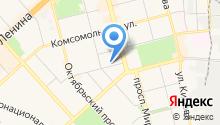 Амут Сноу Лэйк на карте
