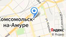 Ателье на Партизанской на карте