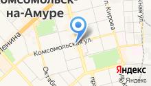 АПОЛ на карте