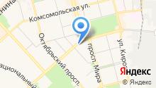 Альфа-Люкс на карте
