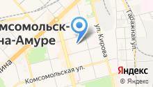 Амурская Ковка на карте