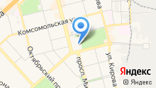 Восток-Атлетик на карте