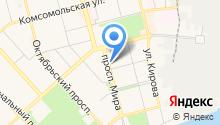Адвокатский кабинет Богданова В.А. на карте