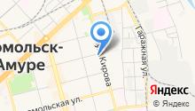Юрвига на карте