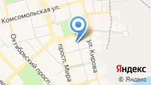 Ведомственная охрана объектов промышленности РФ на карте