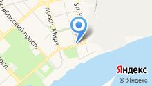 ХОСКА, ПАО на карте