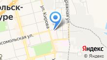 Шиномонтажная мастерская на Комсомольской на карте