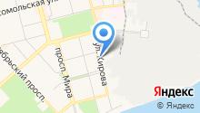 Амгунь на карте