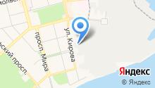 DMI Форест на карте