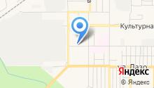 Автостоянка на ул. Сусанина на карте