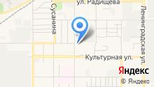 Автостоянка на Машинной на карте