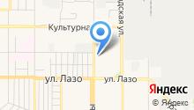 Юнис на карте