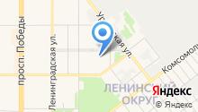 ИНВЕНТ ДВ на карте