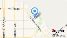 Альмир на карте