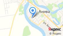 Анивский на карте