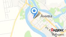 Анивская центральная районная больница им. В.А. Сибиркина на карте