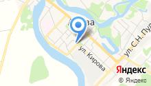 Региональная общественная приемная Председателя Партии Единая Россия Д.А. Медведева на карте