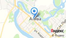 Анивская автошкола на карте