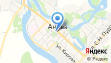 Администрация г. Анивы на карте