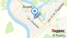 Центр социальной поддержки Сахалинской области на карте