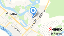 Сахалинские лесничества на карте