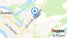 Мастерская кузовного ремонта на ул. Пудова на карте