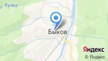 Быковская участковая больница на карте