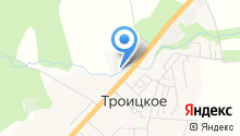 Троицк-Лада на карте