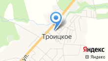 Троицк-Лавр на карте