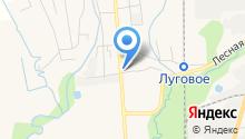 Арлекин на карте