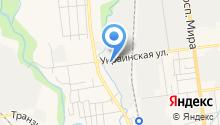 Шины+ на карте
