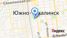 Ассоциация союз рыболовецких колхозов и предприятий Сахалинской области на карте
