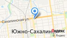 Отличные наличные-Южно-Сахалинск на карте