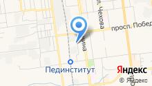 Автосервис на ул. Крюкова на карте