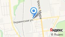 А/К 1407 на карте